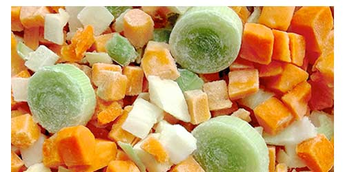 DICED SOUP VEGETABLES